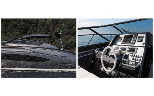 Riva 63' Virtus cruising