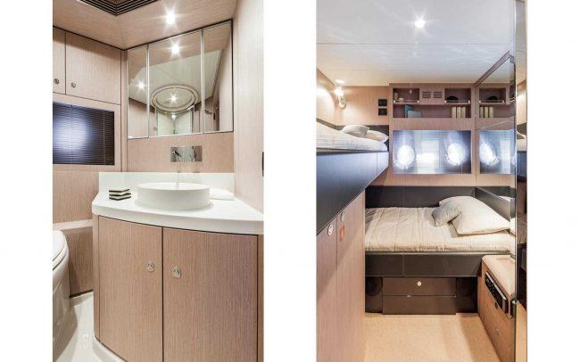 Riva 63' Virtus lower deck