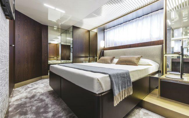 Ferretti Yachts 850 Lower Deck