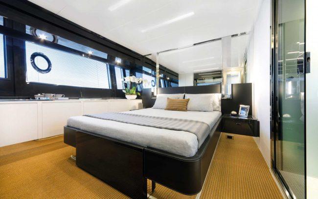 Riva 76' Bahamas lower deck