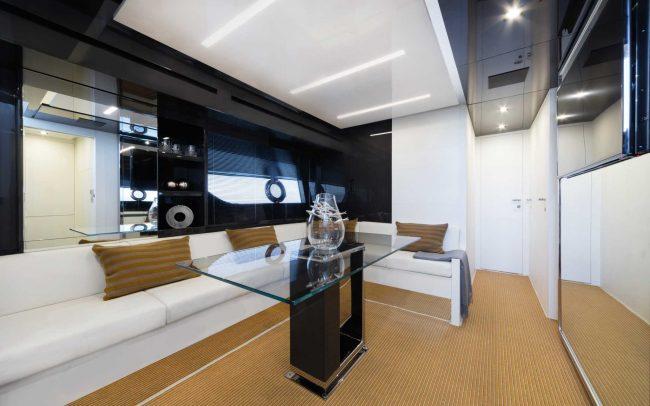 Riva 76' Bahamas main deck