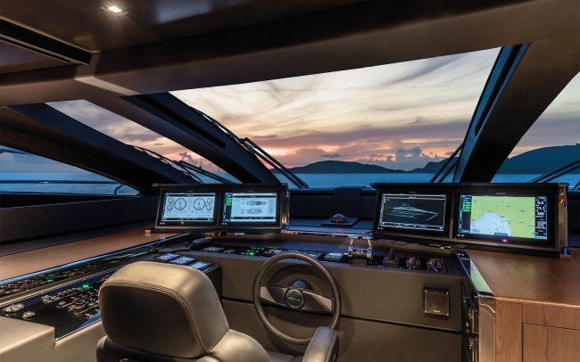 Riva 90' Argo main deck